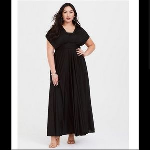 Torrid Special Occasion Convertible Maxi Dress
